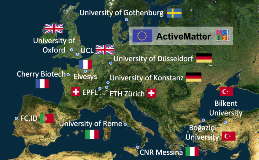 ActiveMatter ITN has started!