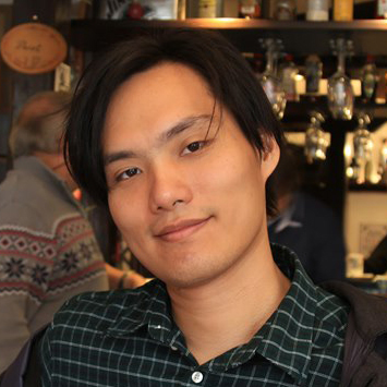 Chun-Jen Chen presents his PhD project at the ActiveMatter online meeting, 10 September 2020