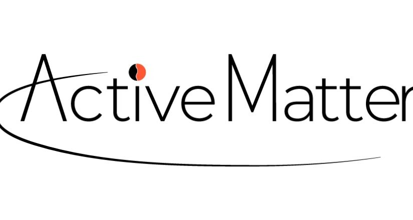 The Active Matter network has a new logo !